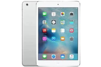 Used as demo Apple iPad Mini 16GB Wifi + Cellular Silver (100% GENUINE + AUSTRALIAN WARRANTY)