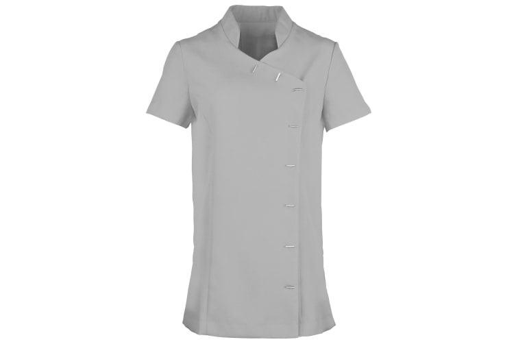 Premier Womens/Ladies *Orchid* Tunic / Health Beauty & Spa / Workwear (Pack of 2) (Silver) (20)