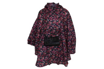 Pro Climate Adults Unisex Packaway Poncho (Rose)
