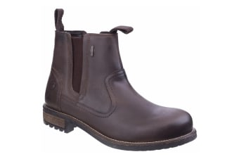 Cotswold Mens Worcester Moisture Wicking Pull On Boots (Brown) (10 UK)