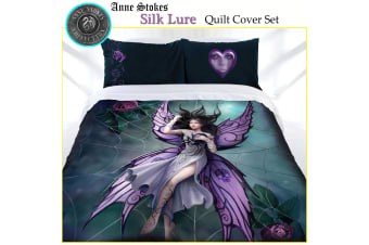 Anne Stokes Silk Lure Quilt Cover Set Queen