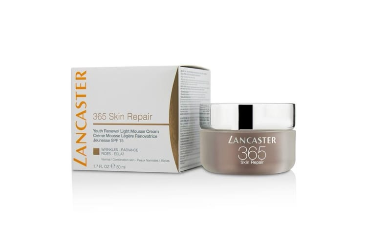 Lancaster 365 Skin Repair Youth Renewal Light Mousse Cream SPF15 - Normal / Combination Skin 50ml