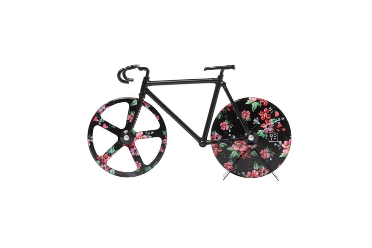 Doiy Fixie Floral Pizza Cutter Wild Rose