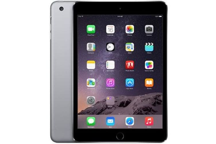 Used as demo Apple iPad Mini 3 16GB Wifi + Cellular Black (100% GENUINE + AUSTRALIAN WARRANTY)