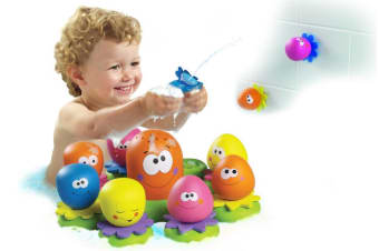 Tomy Baby Kids Toddler Octopals Bath Time Floating Toy