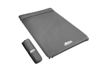 Double Self-Inflating Mat 4cm (Suede Look)