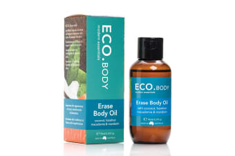 Eco Modern Essentials Body Oil Erase (Coconut, Hazelnut, Macadamia & Mandarin) 95ml