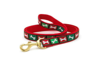Up Country Christmas Bones Lead (Multicoloured) (5/8 inches x 4 foot)