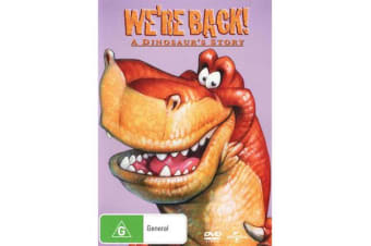 We're Back! A Dinosaur's Story  (Big Face Packaging)