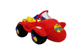 Big Red Car Plush