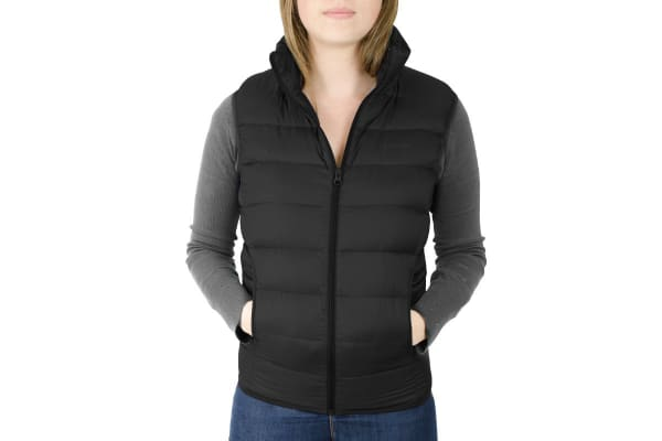 Komodo PackLite Women's Down Vest (Black, Large)