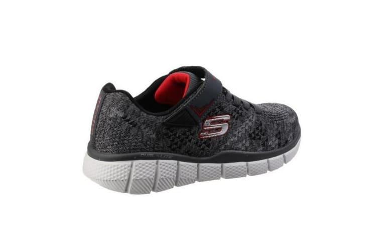 Skechers Childrens Boys Equalizer 2.0 Point Keeper Trainers (Grey/Black) (11.5 Child UK)