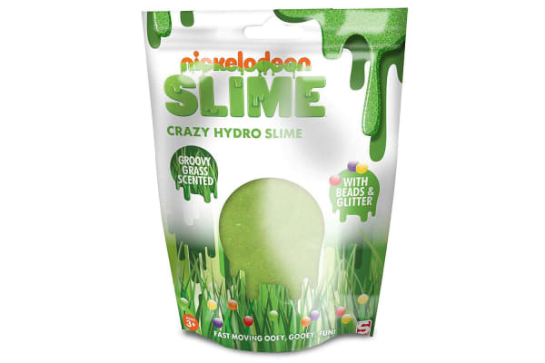 3x Nickelodeon Slime Crazy Hydro Slime Groovy Grass