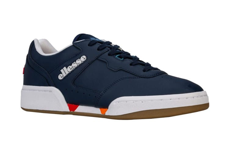Ellesse Men's Piacentino 2.0 Leather AM Shoe (Navy, Size 7 US)