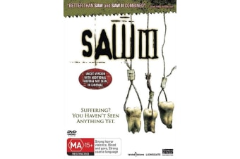 Saw III DVD Region 4