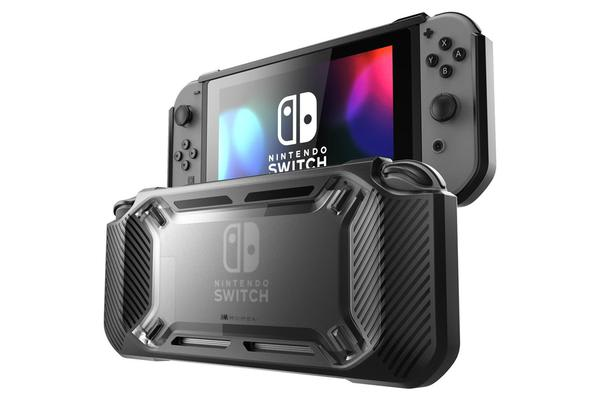 Mumba Nintendo Switch Rugged Hybrid Protective Case - Black Game worry-free!