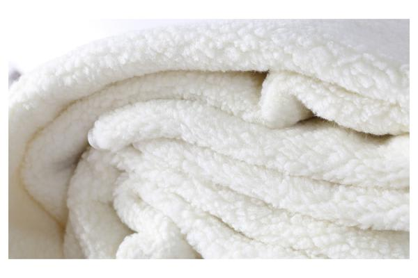 Fleecy Fully Fitted Heated Electric Blanket Double