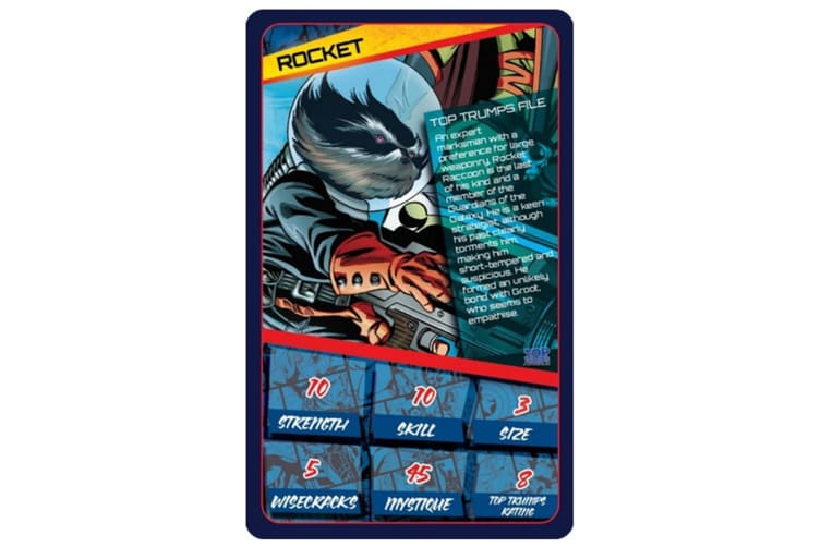 Top Trumps: Marvel Universe