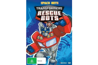 Transformers: Rescue Bots - Space Bots - DVD - NEW Region 4