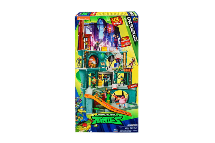 Rise Of The TMNT Epic Sewer Lair Playset