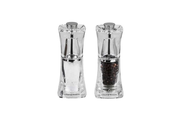 Cole & Mason Salt And Pepper Mills - Crystal