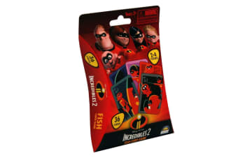 Incredibles 2 Fish Card Game