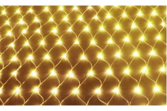 LED Fairy Net Lights 2x3m WARM WHITE