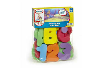 Little Tikes Foam Letter and Numbers