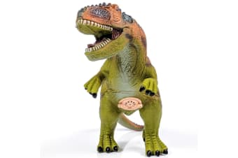 Large Vinyl Green T-Rex Dinosaur with Sounds