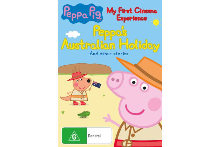 Peppa Pig My First Cinema Experience DVD Region 4