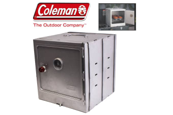 Coleman Flat Pack Fold Out Camp Oven Food Baking Cooker Portable Camping Outdoor