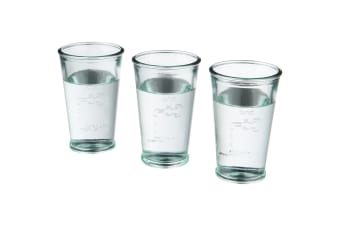 Jamie Oliver 3 Water Glasses (Pack of 2) (Transparent Clear) (One Size)