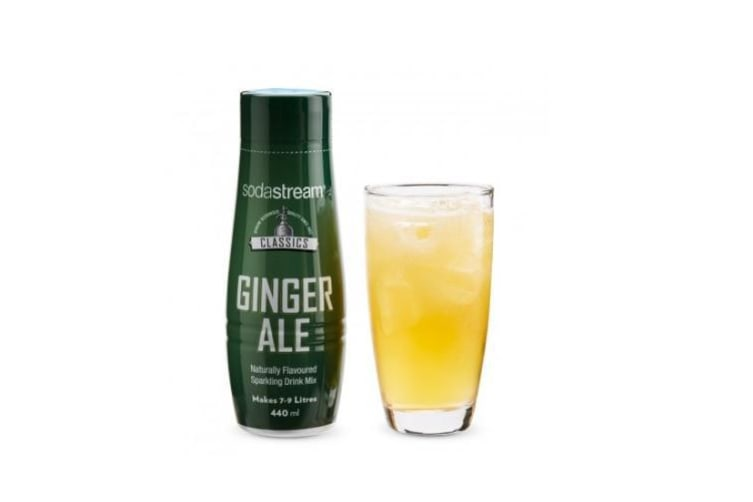 SodaStream Classics Ginger Ale 440ml Sparkling Soda Water Syrup Drink Mix- Makes 9L