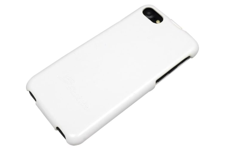 For iPhone 8 7 Case Fashion Stylish Vertical Flip Protective Leather Cover White
