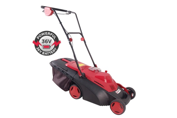 Certa 36V Electric Lawn Mower with 4.0Ah Battery Pack