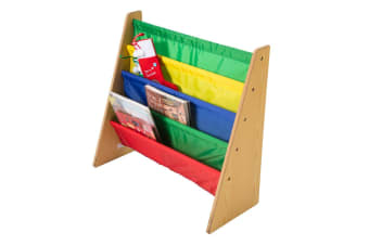 Lenoxx Kids Book Sling Storage Rack