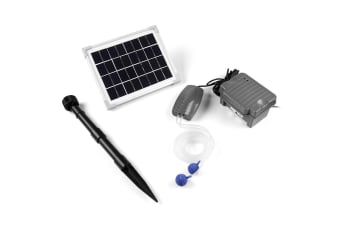 Deluxe Oxygen Supplier Pond Air Pump Solar Powered
