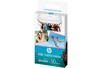 HP Sprocket photo paper White Gloss