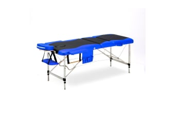 Portable Aluminium Padded Massage & Therapy Bed