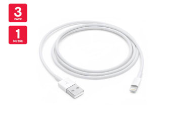 Le Lightning To Usb Cable 1m 3 Pack