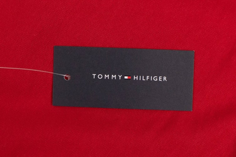 Tommy Hilfiger Men's Modern Essentials Flag Long Sleeve (Grey Heather, Size S)