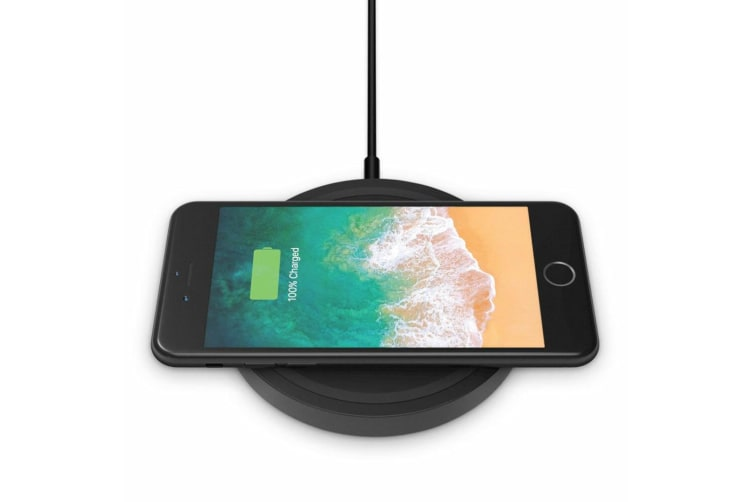 Belkin Boost Up Wireless Charging Pad/Mat 5W Qi Charger f/ iPhone X/8/8 Plus BLK