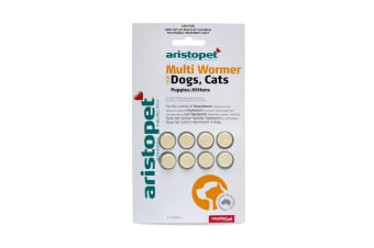All Wormer Tablets for Dog/Cats/Puppies/Kittens 5kg - 8 Tabs (Aristopet)