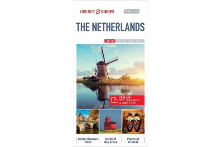 Insight Guides Travel Map Netherlands
