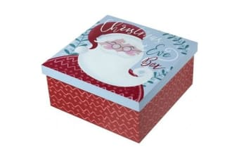 Santa Christmas Eve Box (Red) (One Size)