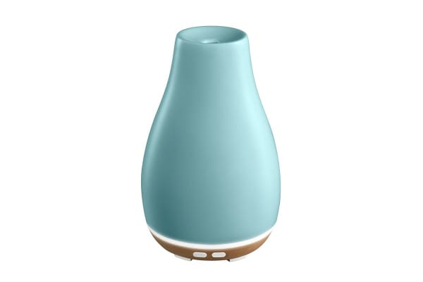 Ellia Blossom Ultrasonic Aroma Ceramic Diffuser - Blue (ARM-510BLA-WW)