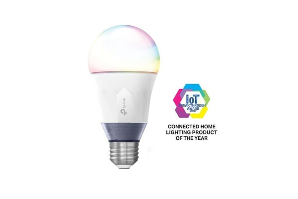 TP-Link LB130 Smart LED Multicolor Bulb, Wi-Fi, Tunable White, Dimmable, A19, E27/B22 Base, 60W Equivalent, No Hub Required (LB130)
