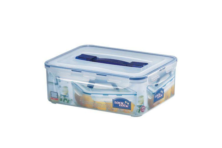 Lock & Lock Rectangular Tall Container with Handle 4.8L