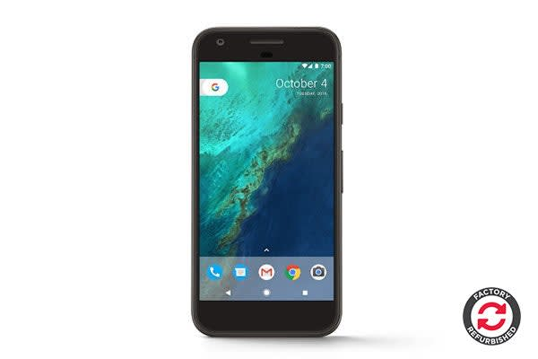 Google Pixel Refurbished (32GB, Very Silver) - AB Grade