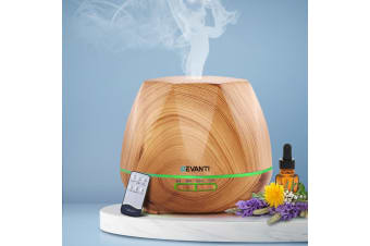 Devanti Ultrasonic Aroma Aromatherapy Diffuser Oil Electric Air Humidifier LW